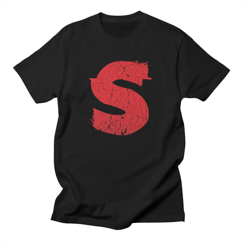 BRAINS! in Men's Regular T-Shirt Black by shudder's Artist Shop