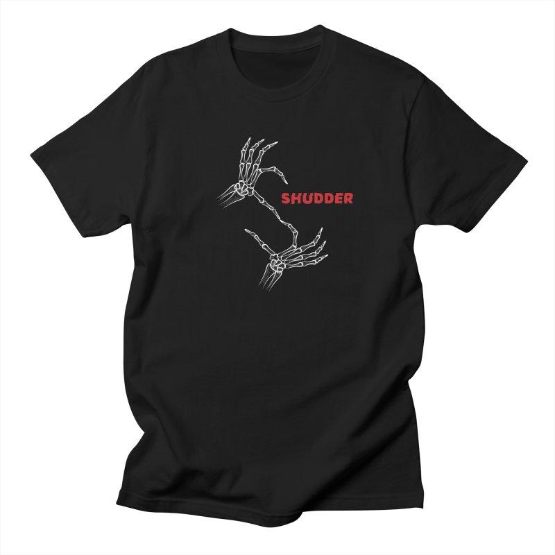 Sh...sh...Shudder in Men's Regular T-Shirt Black by shudder's Artist Shop
