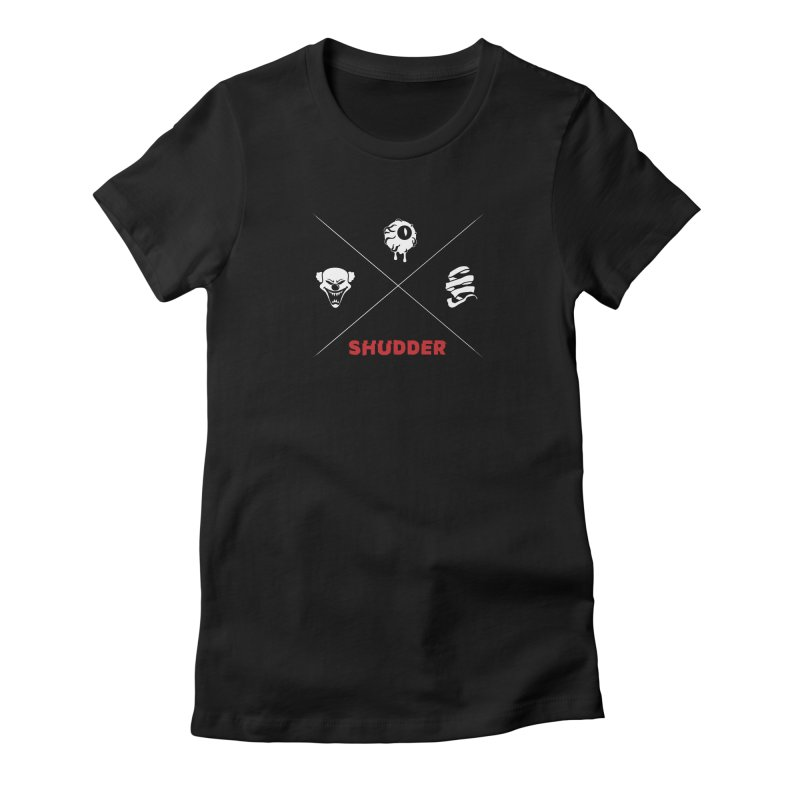 Iconic 2 Women's Fitted T-Shirt by shudder's Artist Shop
