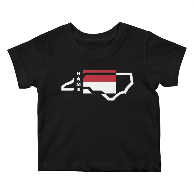 Home Sweet Carolina 2.0 Kids Baby T-Shirt by shypsi's Artist Shop