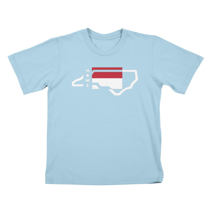 Home Sweet Carolina 2.0 Kids T-Shirt by shypsi's Artist Shop