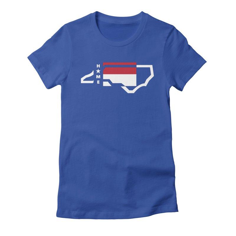 Home Sweet Carolina 2.0 Women's Fitted T-Shirt by shypsi's Artist Shop