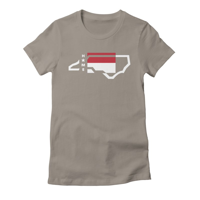 Home Sweet Carolina 2.0 Women's Fitted T-Shirt by shypsi's Artist Shop