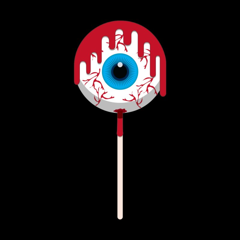 Halloween Eye Candy - Scary, Bloody Creepy Eyeball Lollipop Men's T-Shirt by Sidewise Clothing & Design