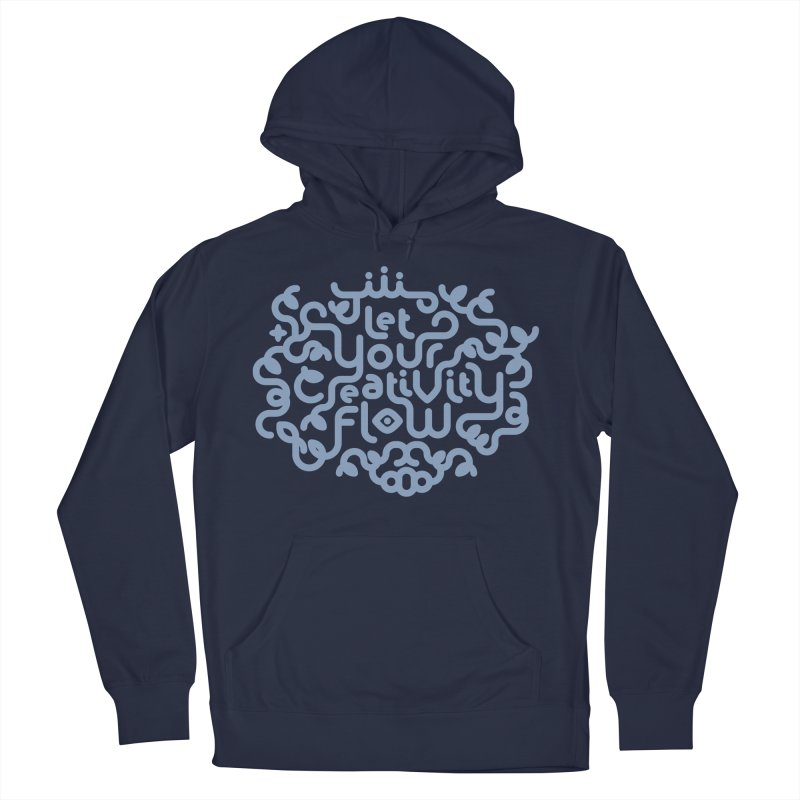 Let Your Creativity Flow Men's Pullover Hoody by Sidewise Clothing & Design