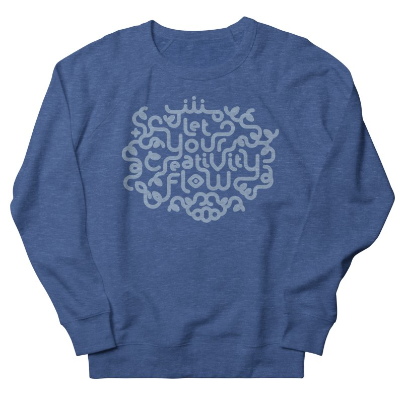 Let Your Creativity Flow Men's Sweatshirt by Sidewise Clothing & Design