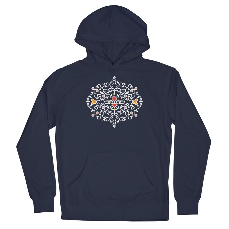 BearHeart™ Men's Pullover Hoody by Sidewise Clothing & Design