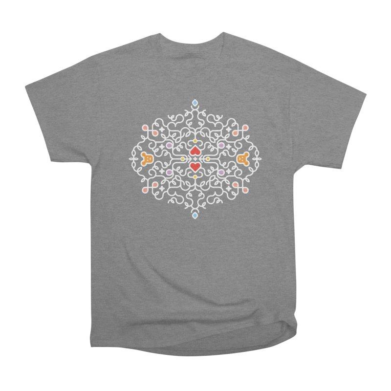 BearHeart™ Women's Heavyweight Unisex T-Shirt by Sidewise Clothing & Design