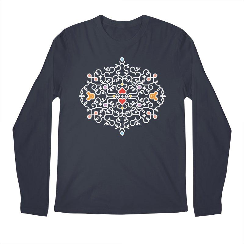 BearHeart™ Men's Regular Longsleeve T-Shirt by Sidewise Clothing & Design