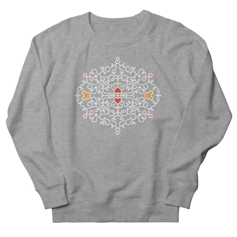 BearHeart™ Women's French Terry Sweatshirt by Sidewise Clothing & Design
