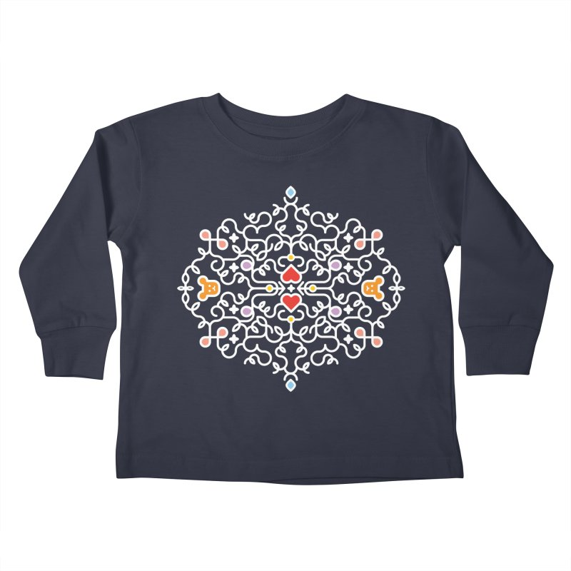 BearHeart™ Kids Toddler Longsleeve T-Shirt by Sidewise Clothing & Design
