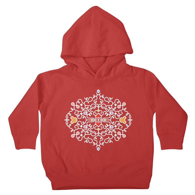 BearHeart™ Kids Toddler Pullover Hoody by Sidewise Clothing & Design