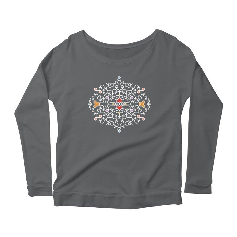 BearHeart™ Women's Longsleeve T-Shirt by Sidewise Clothing & Design