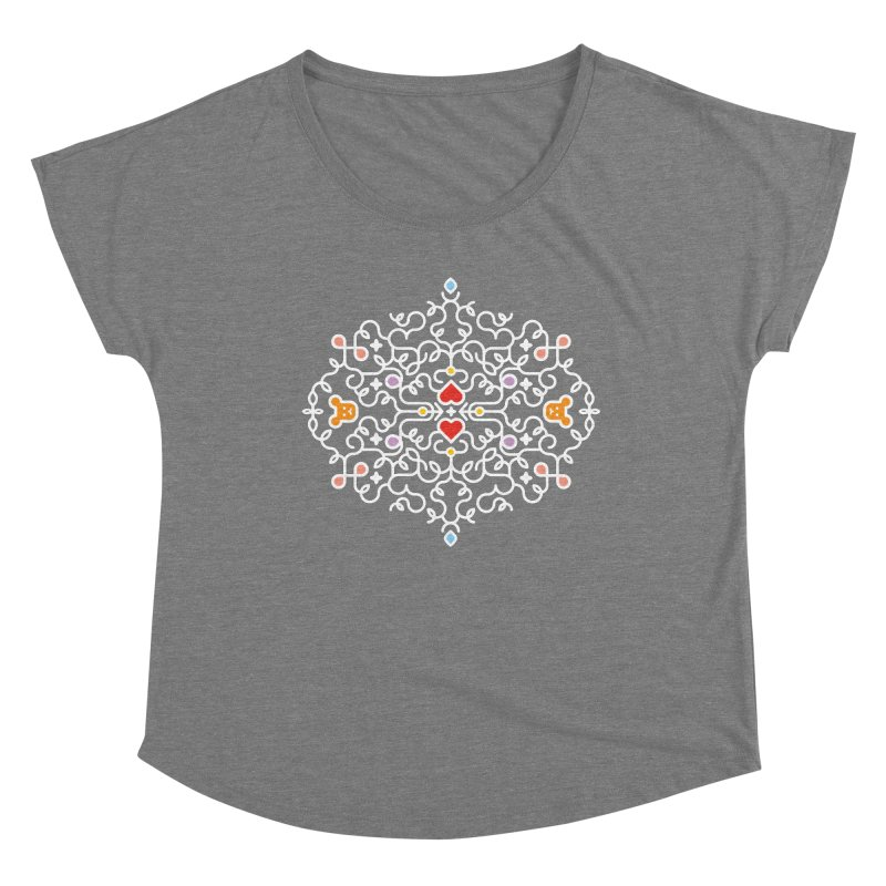 BearHeart™ Women's Scoop Neck by Sidewise Clothing & Design