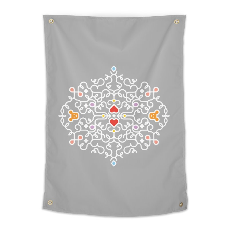 BearHeart™ Home Tapestry by Sidewise Clothing & Design