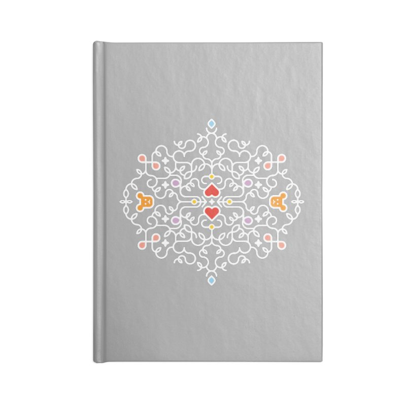 BearHeart™ Accessories Blank Journal Notebook by Sidewise Clothing & Design
