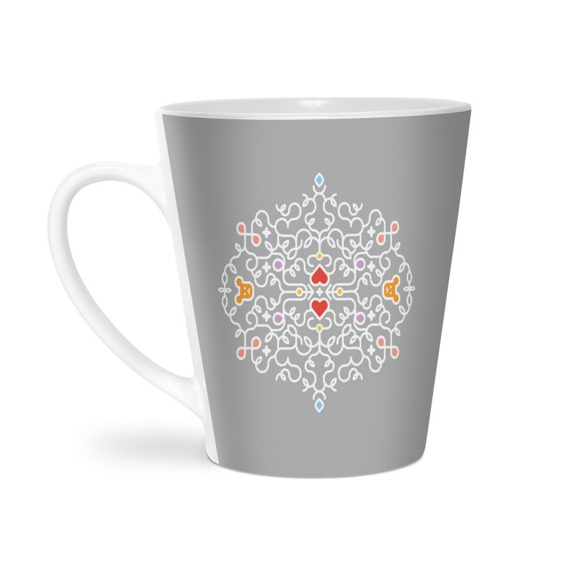 BearHeart™ Accessories Latte Mug by Sidewise Clothing & Design