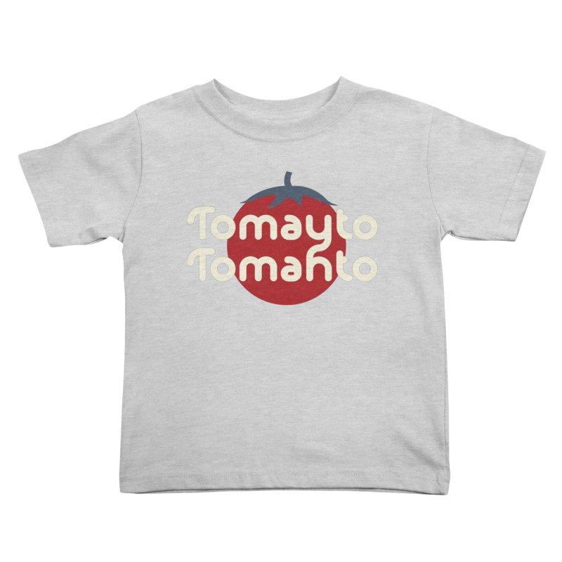 Tomayto Tomahto Kids Toddler T-Shirt by Sidewise Clothing & Design