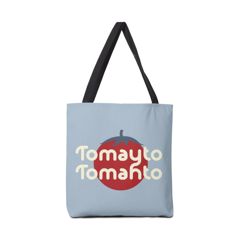 Tomayto Tomahto Accessories Bag by Sidewise Clothing & Design