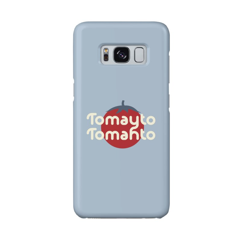 Tomayto Tomahto Accessories Phone Case by Sidewise Clothing & Design
