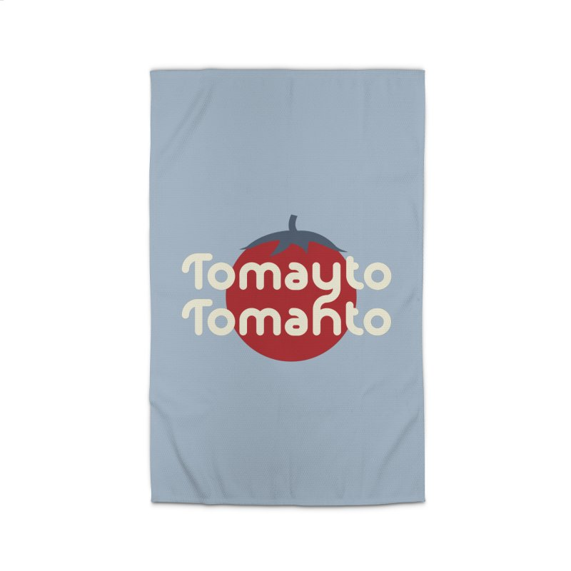 Tomayto Tomahto Home Rug by Sidewise Clothing & Design