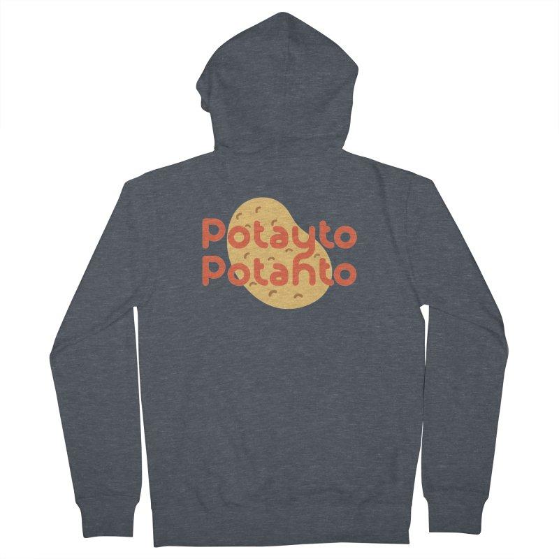 Potayto Potahto Women's Zip-Up Hoody by Sidewise Clothing & Design