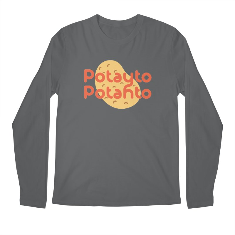 Potayto Potahto Men's Longsleeve T-Shirt by Sidewise Clothing & Design