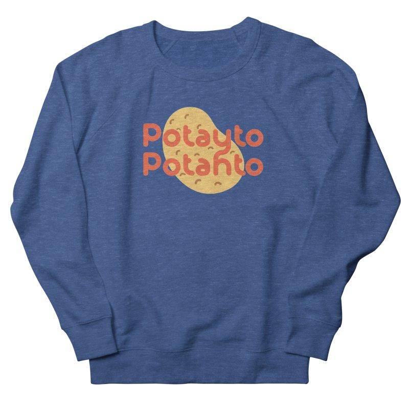 Potayto Potahto Men's Sweatshirt by Sidewise Clothing & Design