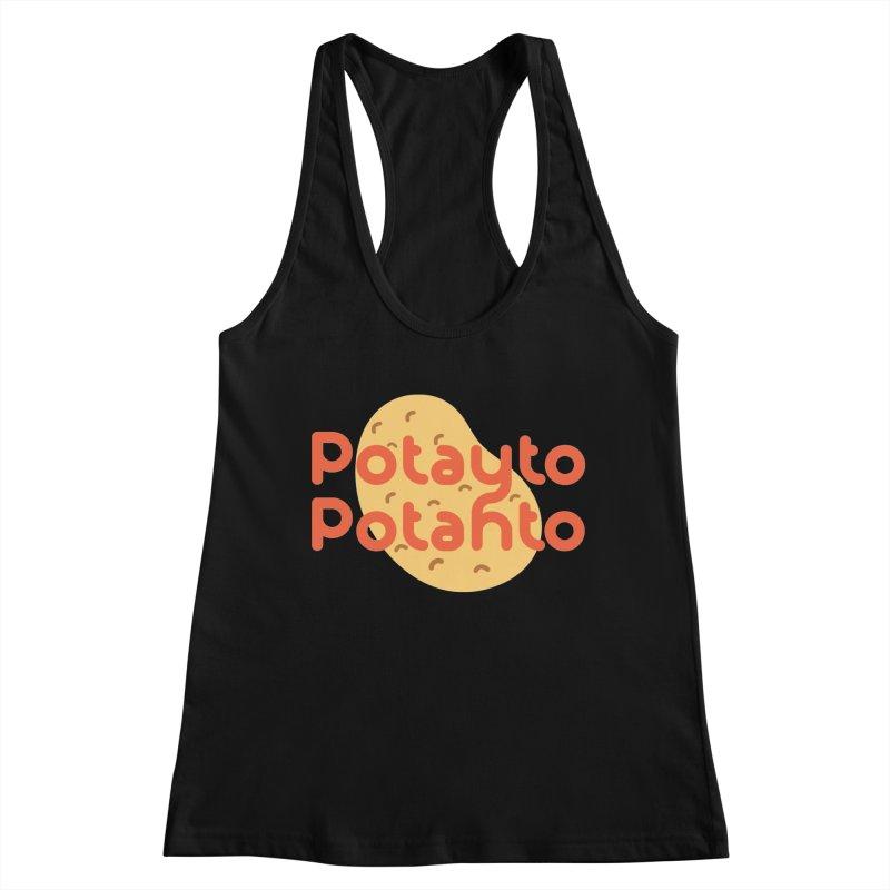Potayto Potahto Women's Tank by Sidewise Clothing & Design