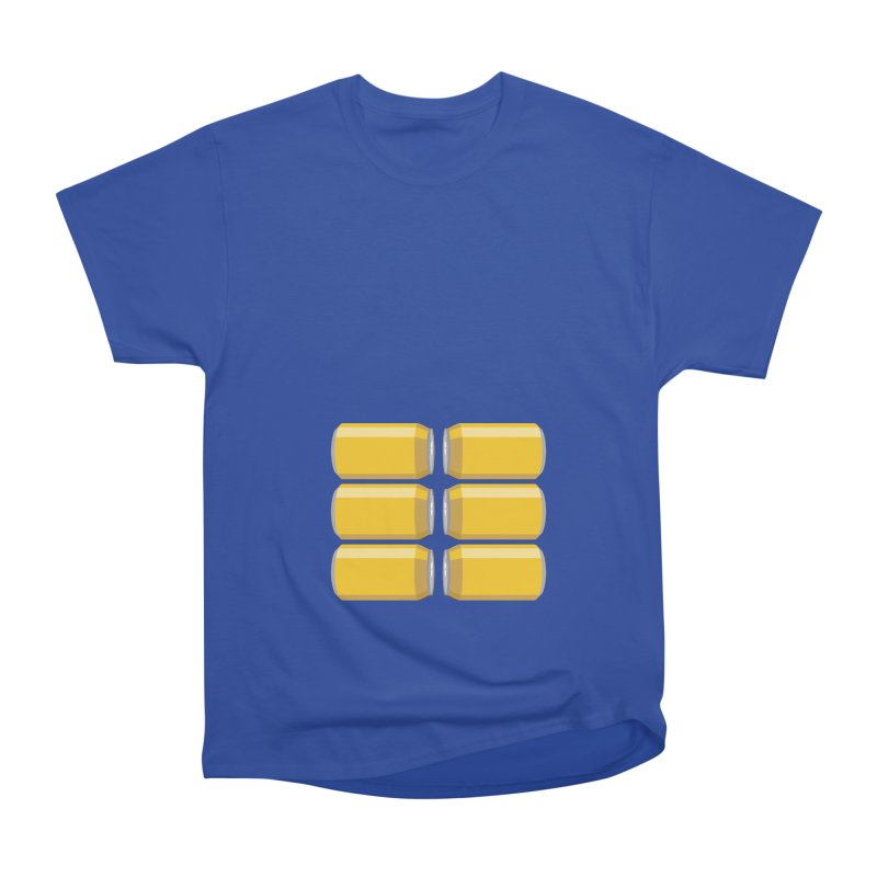 6-PACK ABS Men's T-Shirt by Sidewise Clothing & Design