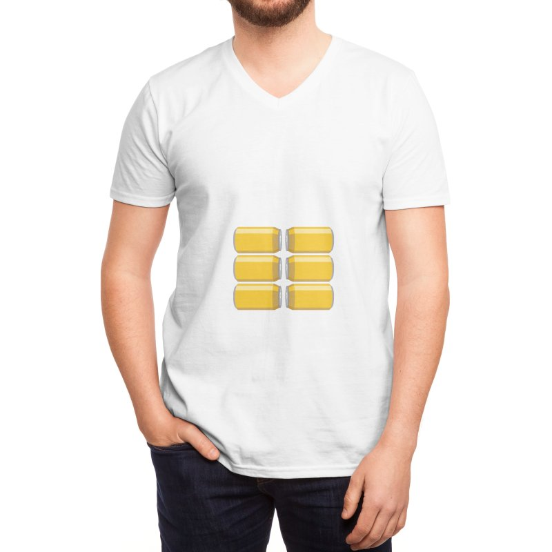 6-PACK ABS Men's V-Neck by Sidewise Clothing & Design