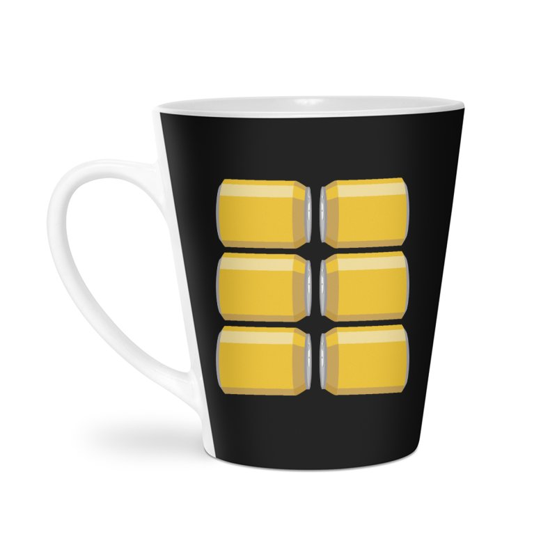 6-PACK ABS Accessories Latte Mug by Sidewise Clothing & Design