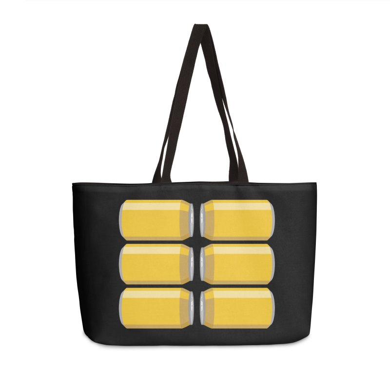 6-PACK ABS Accessories Weekender Bag Bag by Sidewise Clothing & Design