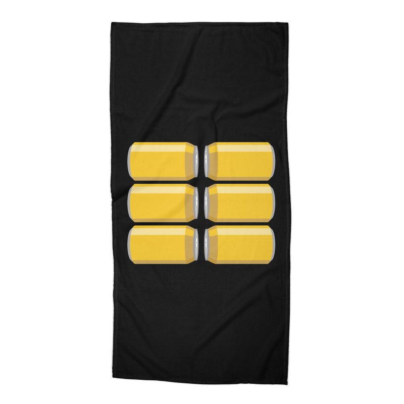 6-PACK ABS Accessories Beach Towel by Sidewise Clothing & Design