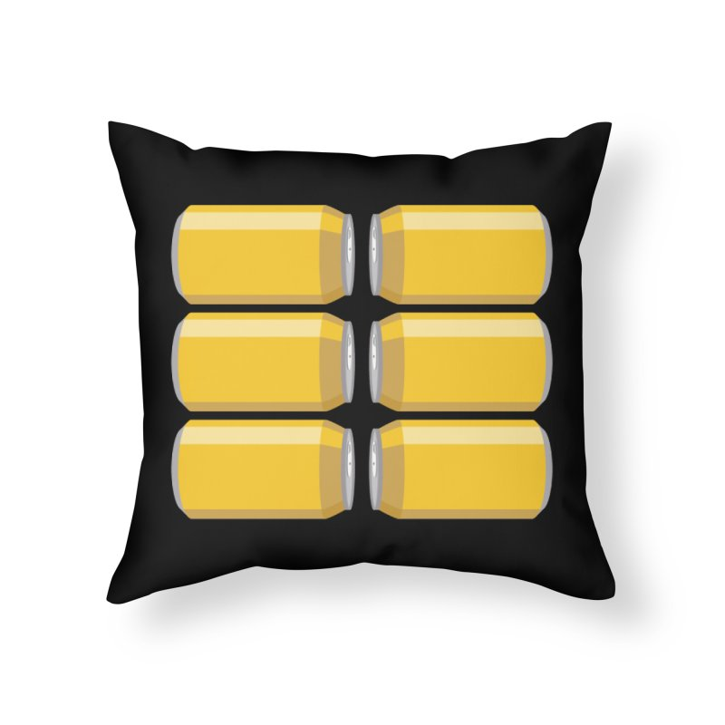 6-PACK ABS Home Throw Pillow by Sidewise Clothing & Design
