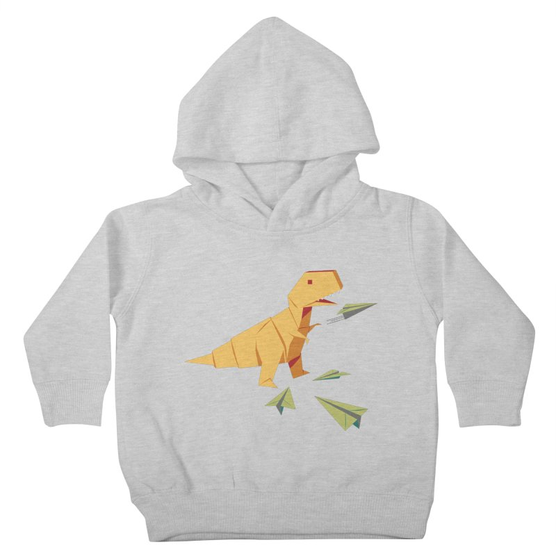 DINORIGAMI Kids Toddler Pullover Hoody by Sidewise Clothing & Design