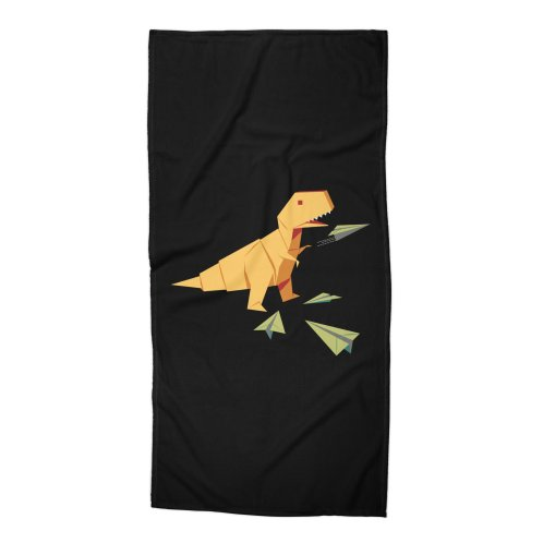image for T-rex Dinosaur Origami flying paper planes