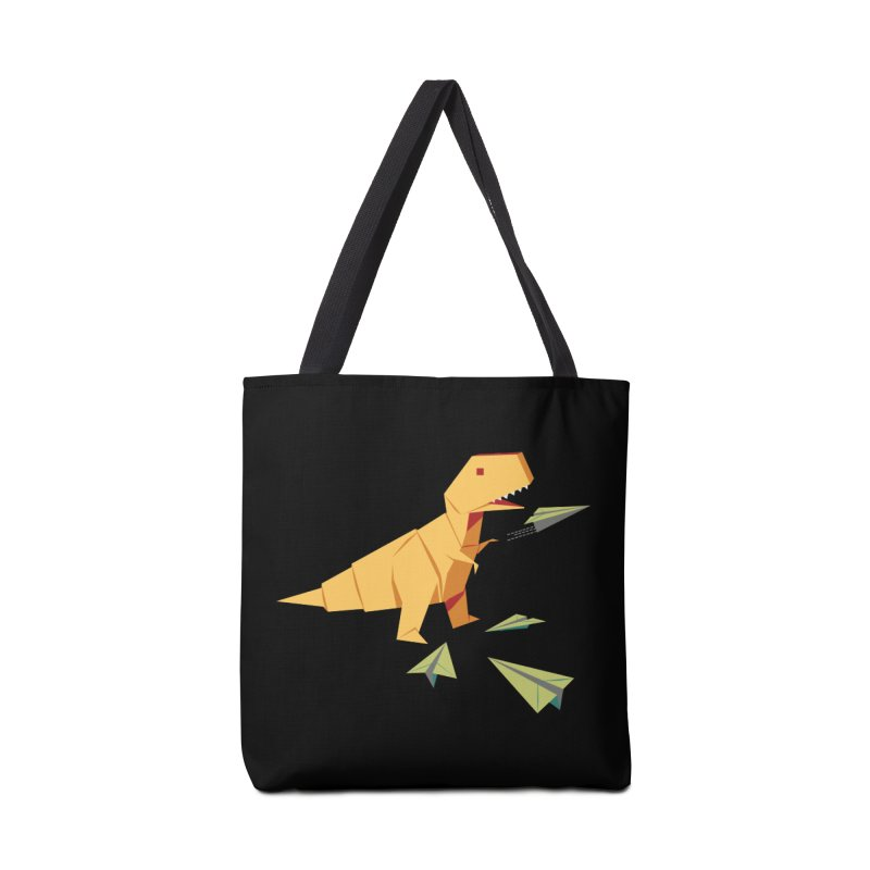 DINORIGAMI Accessories Bag by Sidewise Clothing & Design