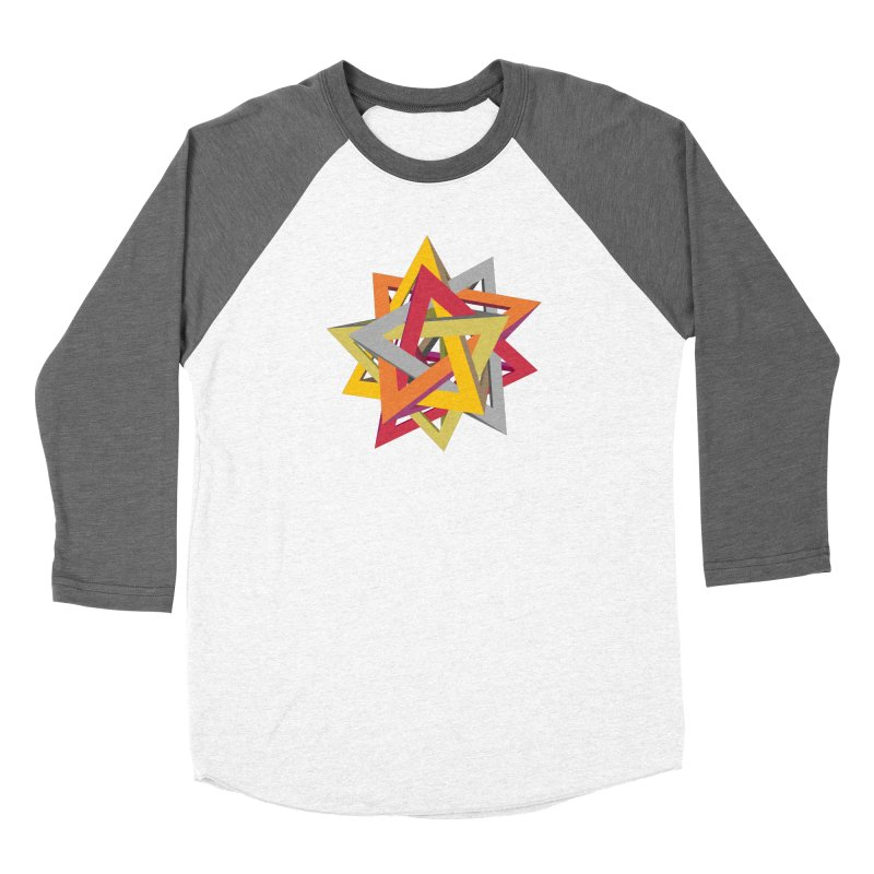 TANGLED TRIANGLES Women's Longsleeve T-Shirt by Sidewise Clothing & Design