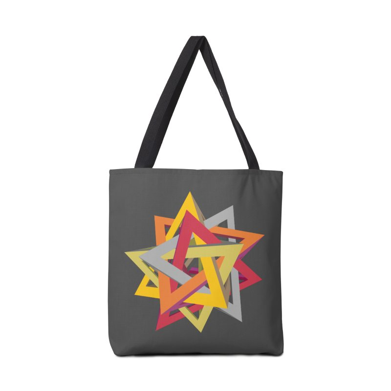 TANGLED TRIANGLES Accessories Bag by Sidewise Clothing & Design