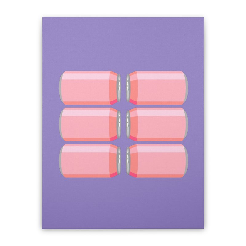6-PACK ABS (for women) Home Stretched Canvas by Sidewise Clothing & Design