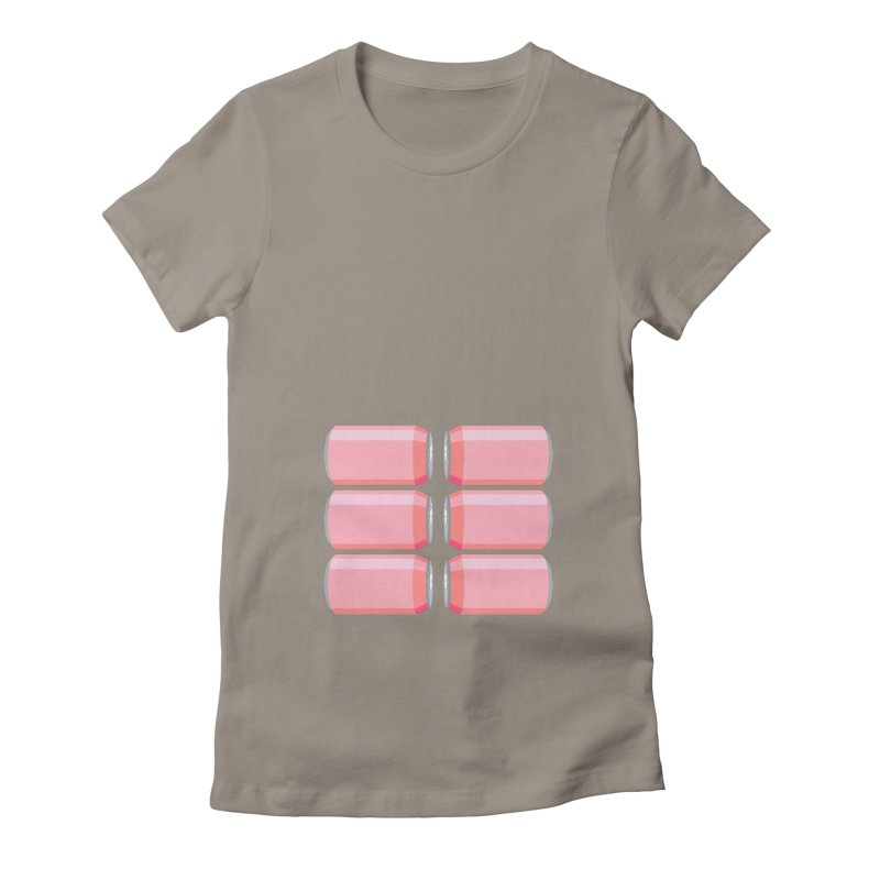 6-PACK ABS (for women) Women's T-Shirt by Sidewise Clothing & Design