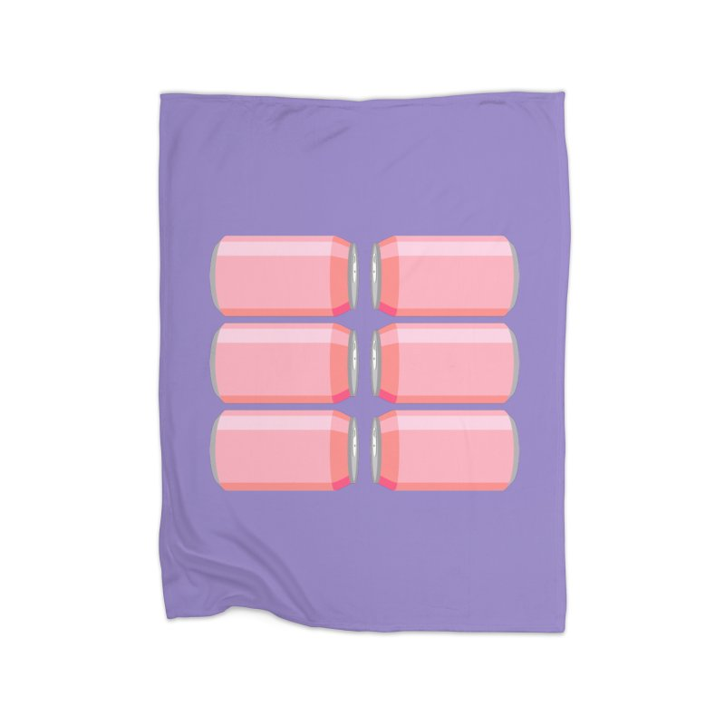 6-PACK ABS (for women) Home Fleece Blanket Blanket by Sidewise Clothing & Design