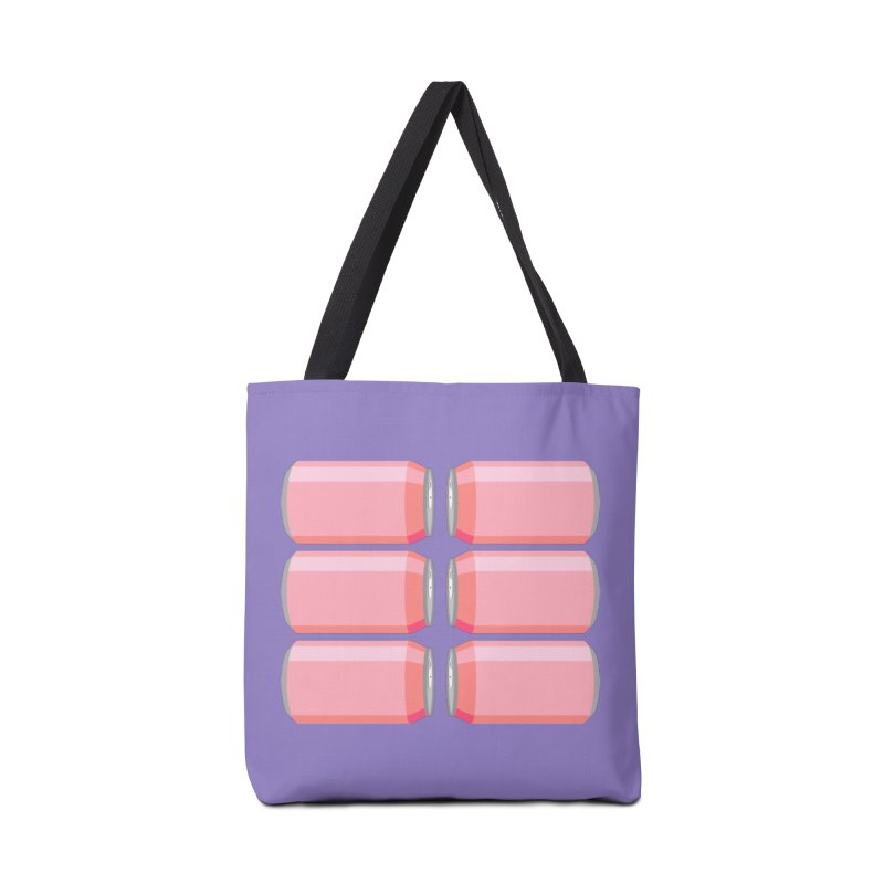 6-PACK ABS (for women) Accessories Bag by Sidewise Clothing & Design