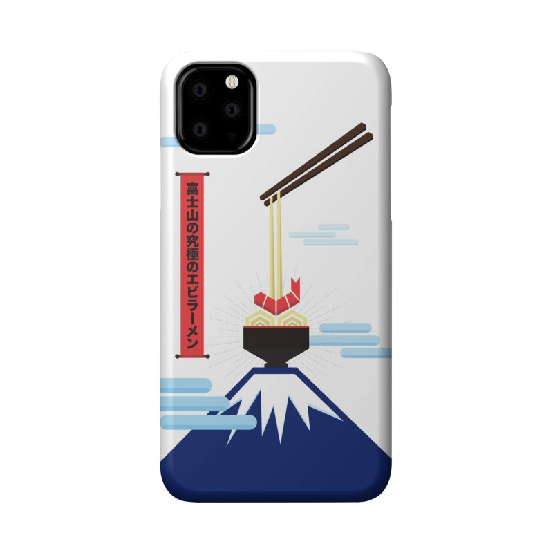 The Ultimate Shrimp Ramen of Mount Fuji Accessories Phone Case by Sidewise Clothing & Design