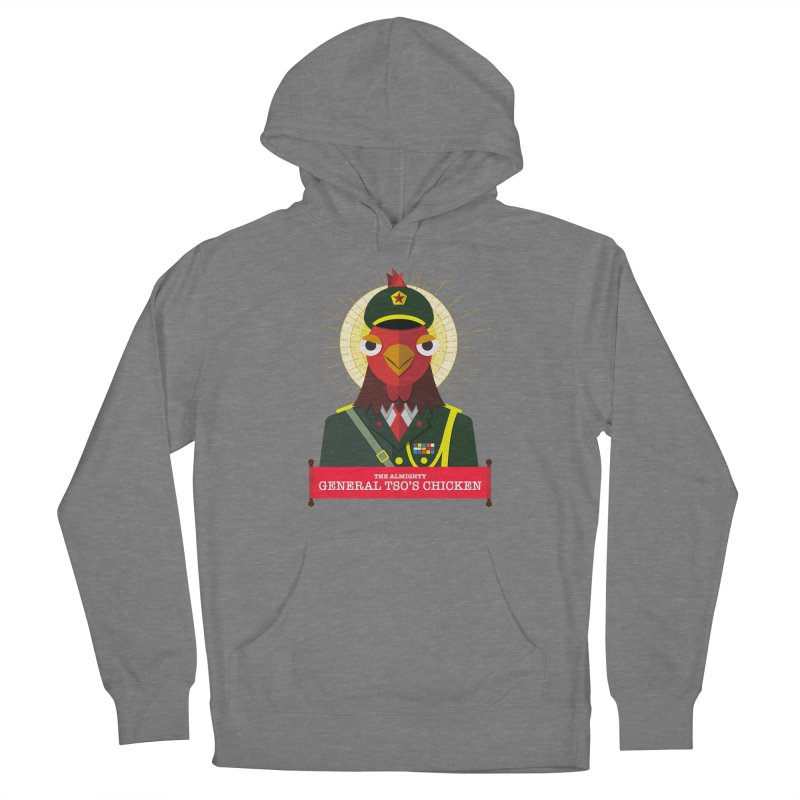 The Almighty General Tso's Chicken Women's Pullover Hoody by Sidewise Clothing & Design