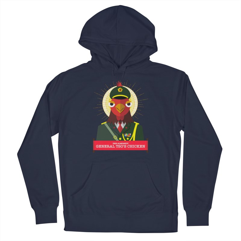 The Almighty General Tso's Chicken Men's Pullover Hoody by Sidewise Clothing & Design