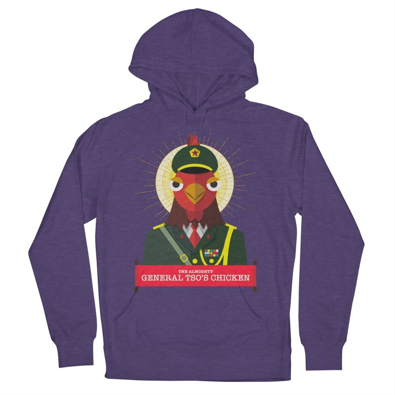 The Almighty General Tso's Chicken Women's French Terry Pullover Hoody by Sidewise Clothing & Design