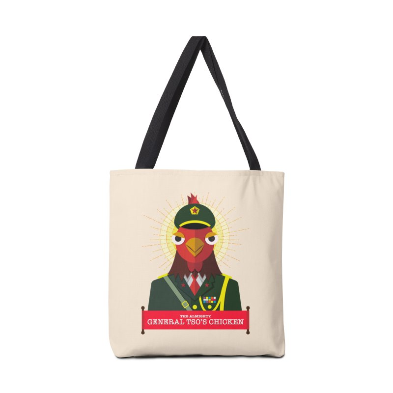 The Almighty General Tso's Chicken Accessories Bag by Sidewise Clothing & Design