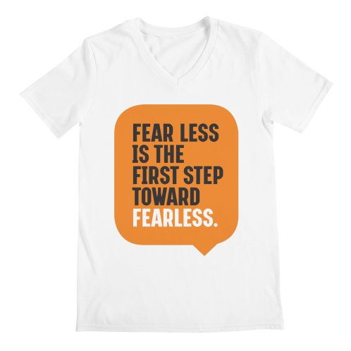 image for FEAR LESS IS THE FIRST STEP TOWARD FEARLESS – MOTIVATIONAL & INSPIRATIONAL QUOTES